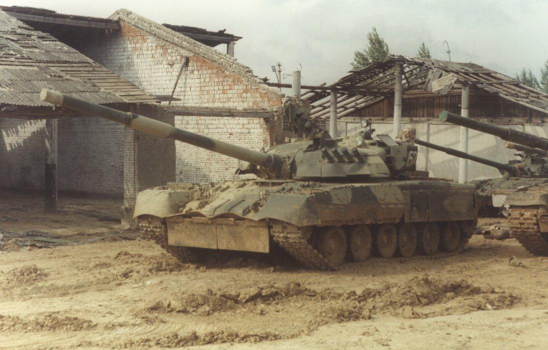 Modern russian tanks